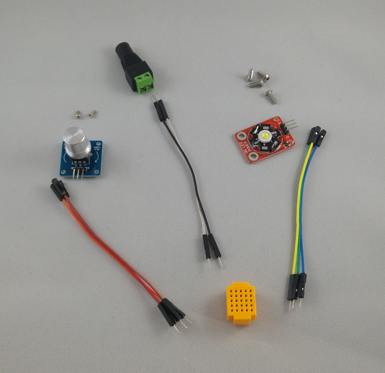 Intoduction To Electronics The Hexa Lamp Makit Home Wiring Materials List Of