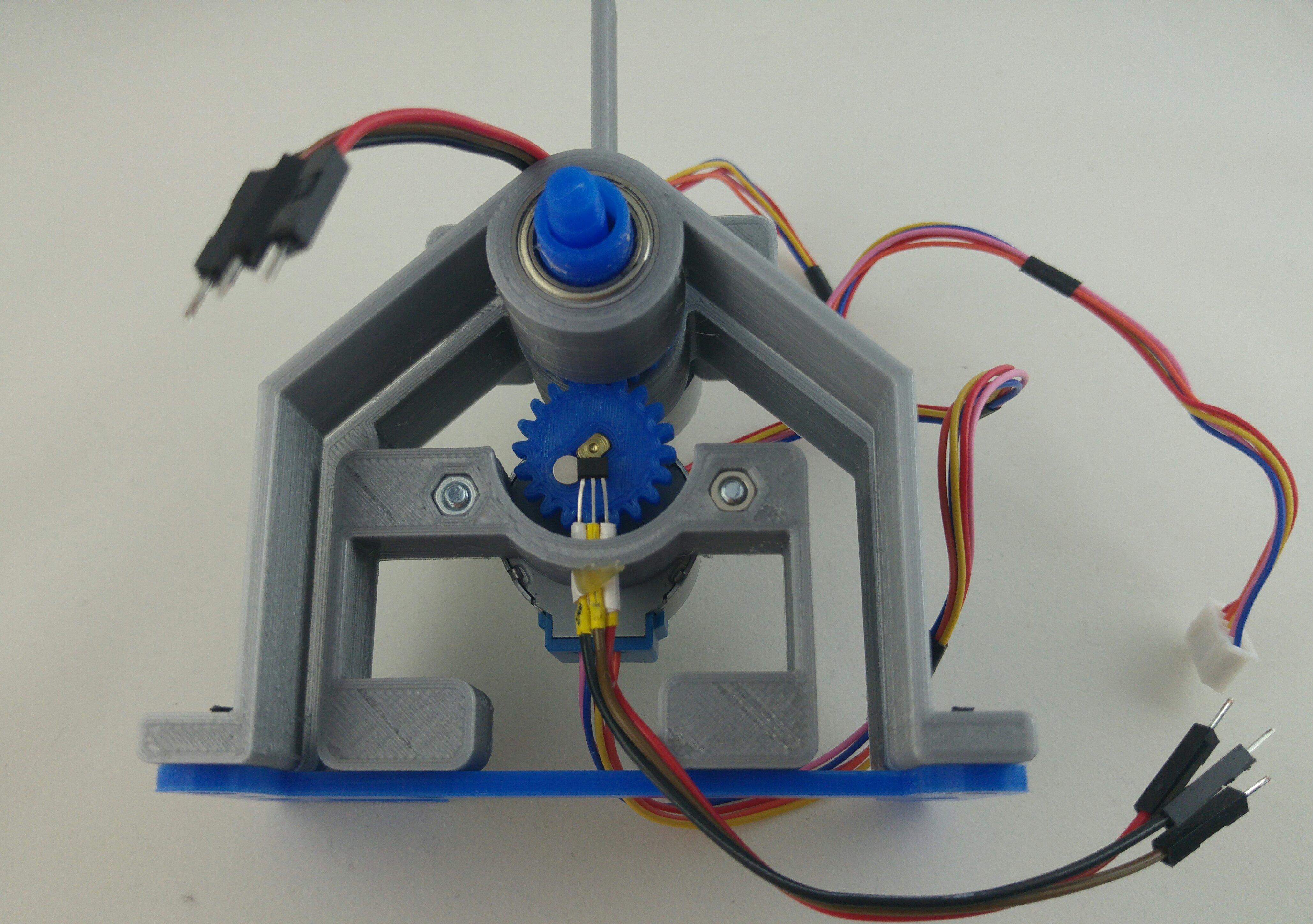 Electronics, 3D printing and mechanics: STEP CLOCK – makit