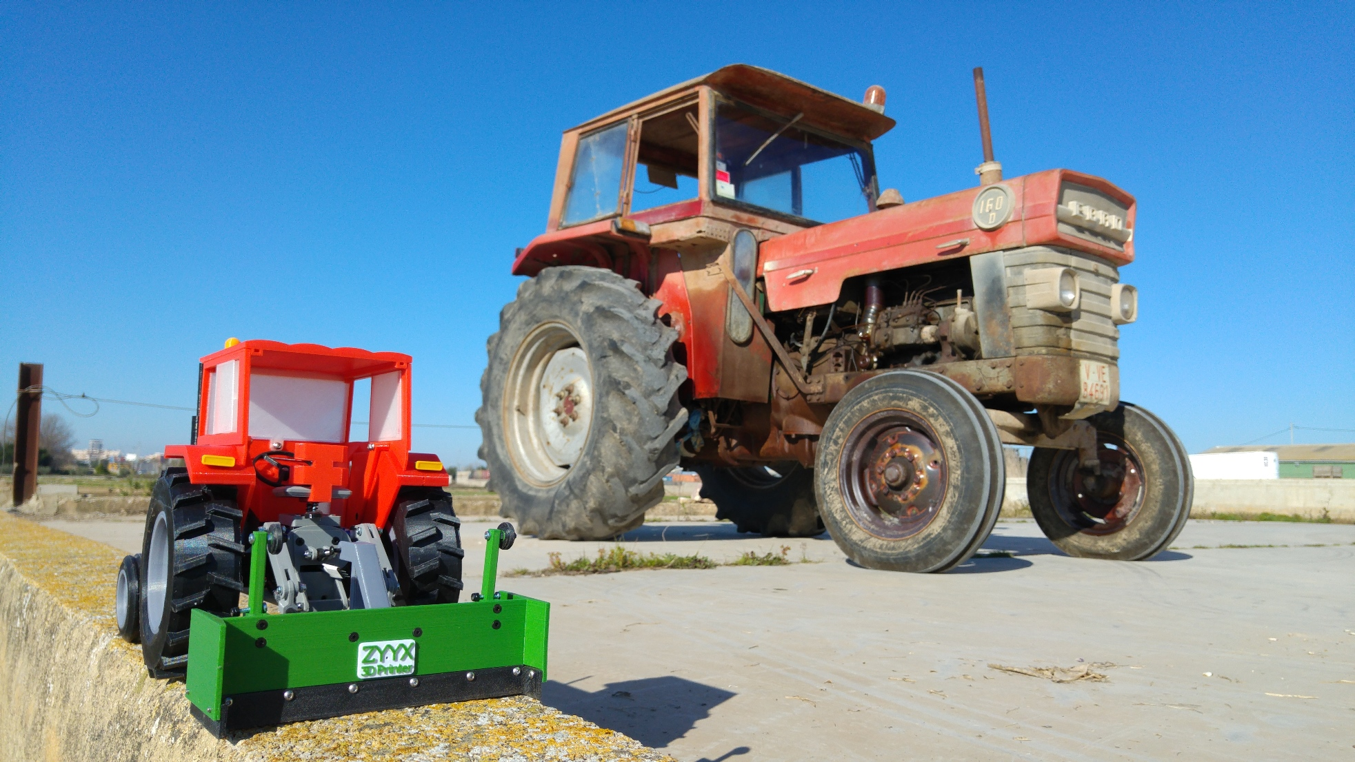 OpenRC Tractor – makit